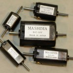 MA1626FSL -Motor, Mashima Ø16x14x26 flat can Ø2 x 9/19 shafts – OUT OF STOCK