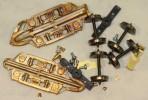 B25830-C – Bogie casting pair brass 1:64 Freight