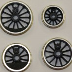 O Gauge Driving Wheels Insulated