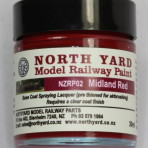 NZRP02 – Paint, Midland Red 30ml