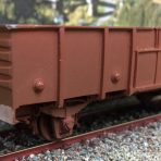 Lc3 Open High side Steel Wagon – Corrugated End Kit